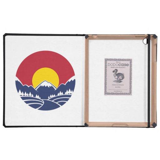 Rocky Mountain Sunset Logo Case For iPad