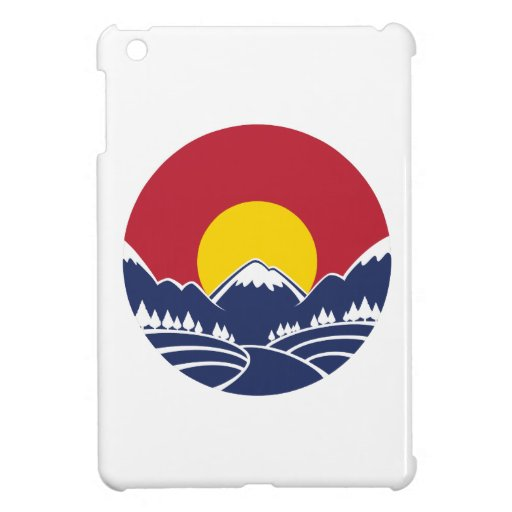 Rocky Mountain Sunset Logo Case For The iPad Mini