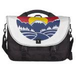 Rocky Mountain Sunset Logo Laptop Commuter Bag