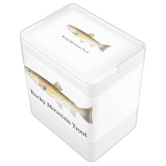 Rocky Mountain Trout Fish Drink Cooler