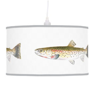 Rocky Mountain Trout Fish Ceiling Lamps
