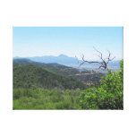 Rocky Mountain View Stretched Canvas Print