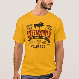 Rocky Mountain Vintage Maroon T-Shirt