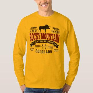 Rocky Mountain Vintage Maroon Tee Shirt