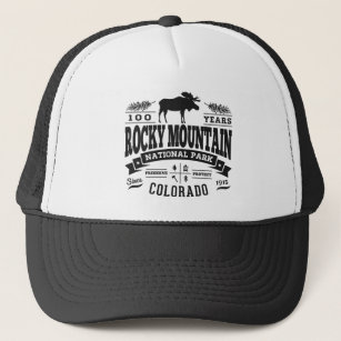 70365a6e Rocky Mountain National Park Hats & Caps | Zazzle