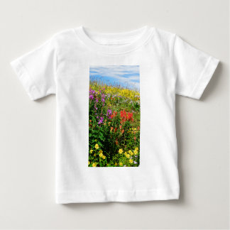 Rocky Mountain Wildflowers Baby T-Shirt