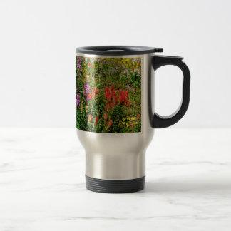 Rocky Mountain Wildflowers 15 Oz Stainless Steel Travel Mug