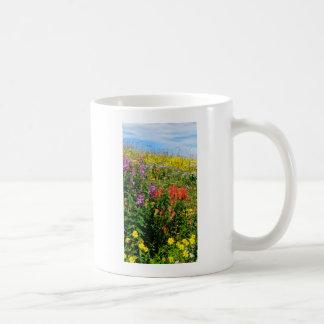 Rocky Mountain Wildflowers Classic White Coffee Mug