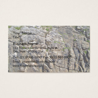 Rocky Mountain with Grass Texture Business Card