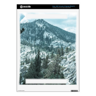 Rocky Mountain With Trees Near Lake Tahoe Xbox 360 Skins