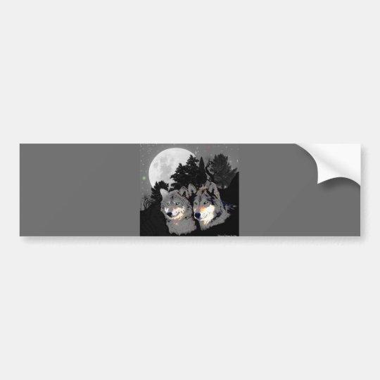 Rocky Mountain Wolves Bumper Sticker