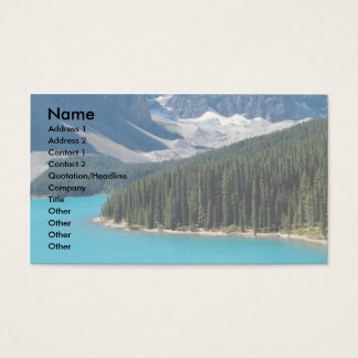 Rocky Mountains Business Card