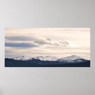 Rocky Mountains-Butte, Montana Poster