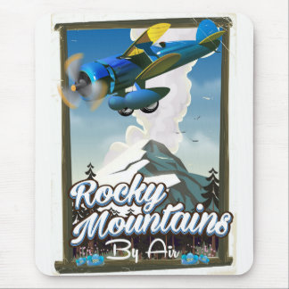 Rocky Mountains by Air! Mouse Pad