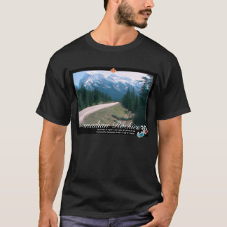 Rocky Mountains Canada 3D Anaglyph T-Shirt