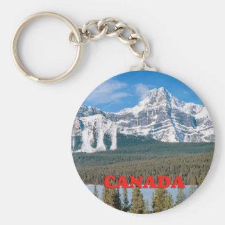 Rocky Mountains Canada Keychain