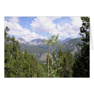 Rocky Mountains  Card