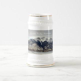 Rocky Mountains, Colorado Beer Stein
