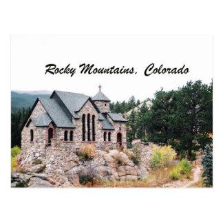 Rocky Mountains, Colorado Postcard