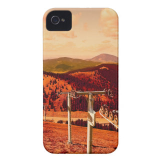 Rocky Mountains Continental Divide Ski Lift Case-Mate iPhone 4 Case
