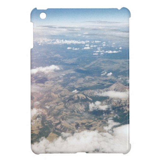 Rocky Mountains from above Case For The iPad Mini