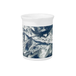 Rocky Mountains from On High Drink Pitcher