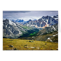 Rocky Mountains in Jasper National Park, Canada Card