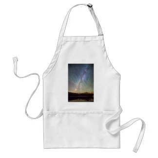 Rocky Mountains Indian Peaks Milky Way Rising Adult Apron