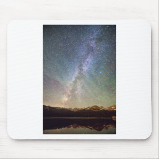 Rocky Mountains Indian Peaks Milky Way Rising Mouse Pad
