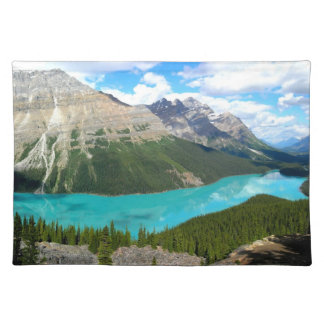 Rocky Mountains Lake Placement Placemat
