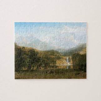 Rocky Mountains, Lander's Peak by Albert Bierstadt Jigsaw Puzzle