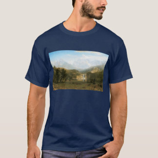 Rocky Mountains, Lander's Peak by Albert Bierstadt T-Shirt