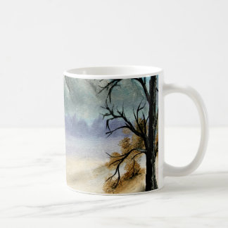Rocky Mountains landscape oil painting Coffee Mug