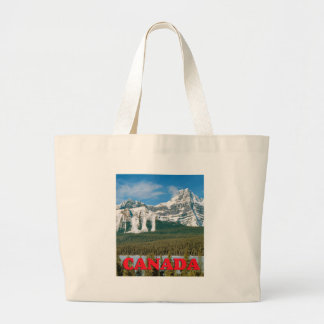 Rocky Mountains Large Tote Bag
