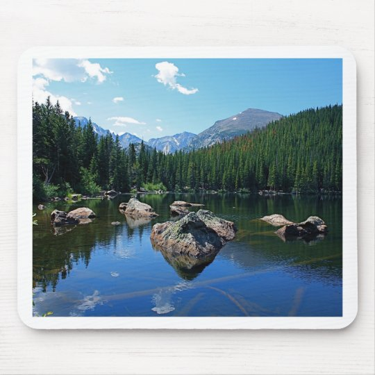 Rocky Mountains Mouse Pad