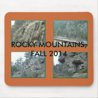 Rocky Mountains Mousepad by MarketMousepad