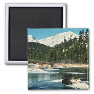Rocky Mountains, National Park Fridge Magnets