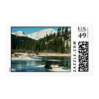 Rocky Mountains, National Park Postage