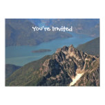 Rocky Mountains Picture 5x7 Paper Invitation Card