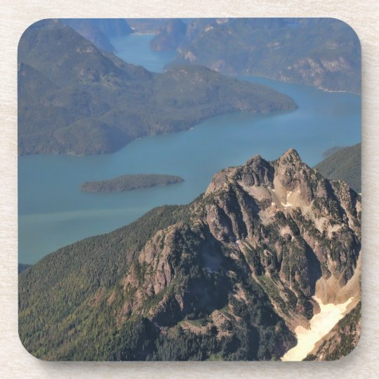 Rocky Mountains Picture Beverage Coaster