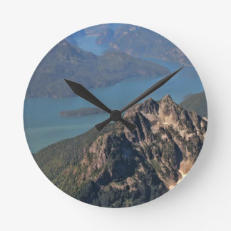 Rocky Mountains Picture Clock
