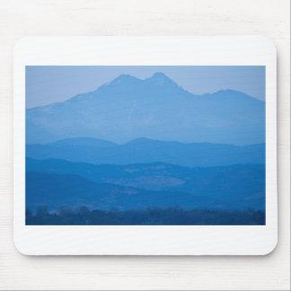 Rocky Mountains Twin Peaks Blue Haze Layers.jpg Mouse Pad