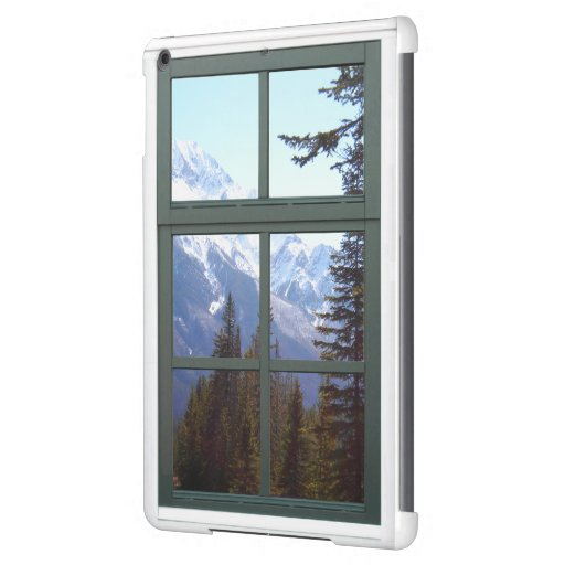 Rocky Mountains Window iPad Air Covers