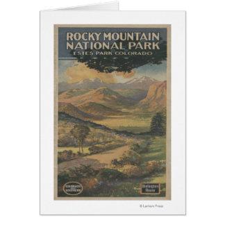 Rocky Mt. Nat'l Park Brochure # 1 Card