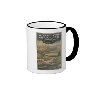 Rocky Mt. Nat'l Park Brochure # 1 Coffee Mug