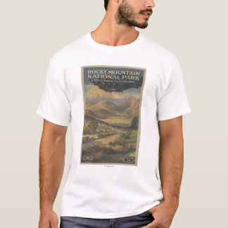 Rocky Mt. Nat'l Park Brochure # 1 T-Shirt