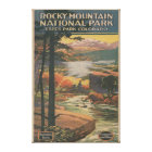 Rocky Mt. Nat'l Park Brochure # 2 Canvas Print