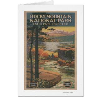 Rocky Mt. Nat'l Park Brochure # 2 Card