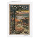 Rocky Mt. Nat'l Park Brochure # 2 Greeting Card