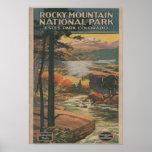 Rocky Mt. Nat'l Park Brochure # 2 Print